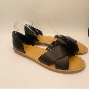 Torrid Black Summer Sandals